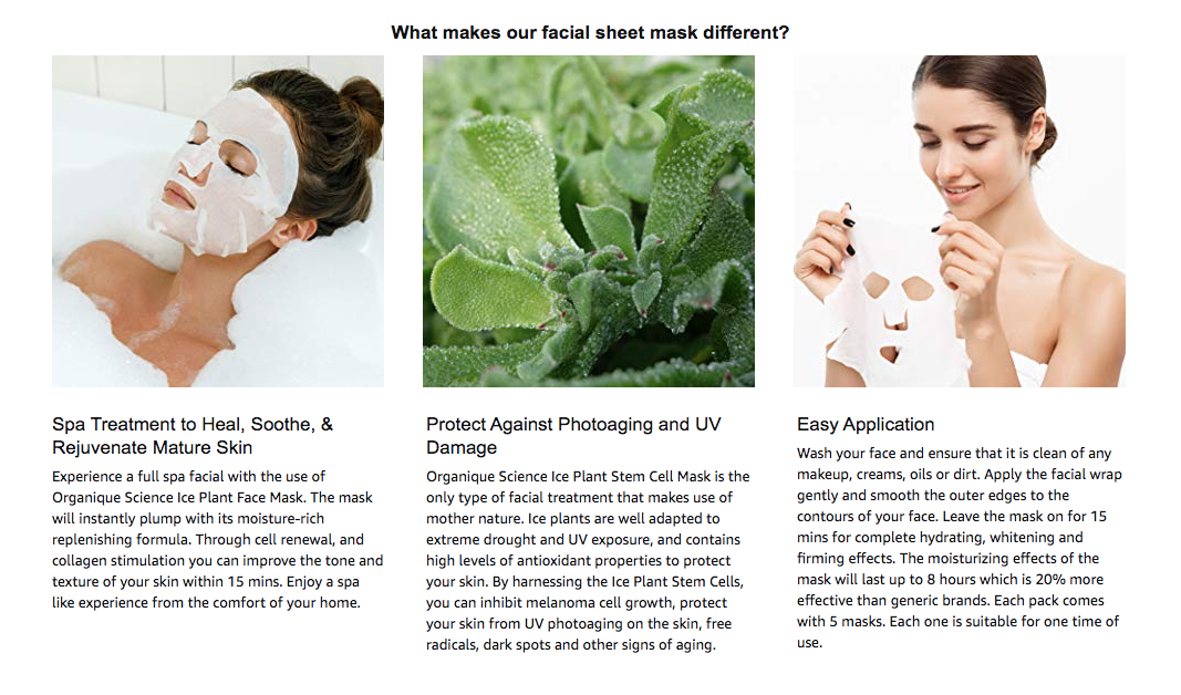 ice plant stem cell mask