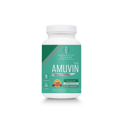 Amuvin Plus™ for Cognitive Health - Organique Science