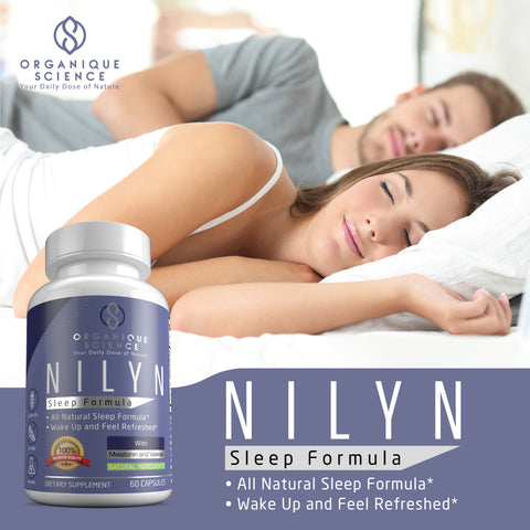 Image of NILYN All Natural Sleep Formula - Organique Science