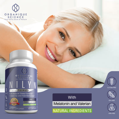 NILYN All Natural Sleep Formula - 3-Bottles - Organique Science