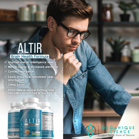Image of ALTIR Memory & Brain Health - Organique Science