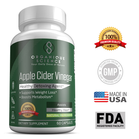 Apple Cider Vinegar Veggie Pills - Organique Science