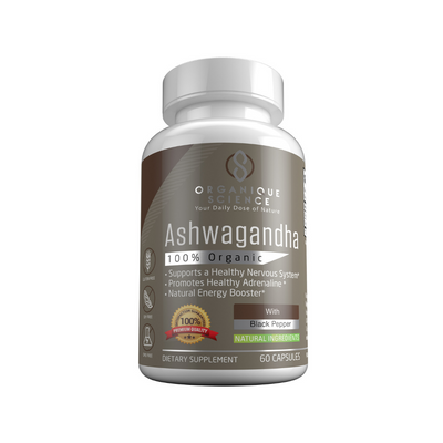 Organic Ashwagandha - Organique Science