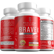 BRAVEX Blood Sugar Support - Organique Science