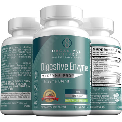 Digestive Enzyme - Organique Science