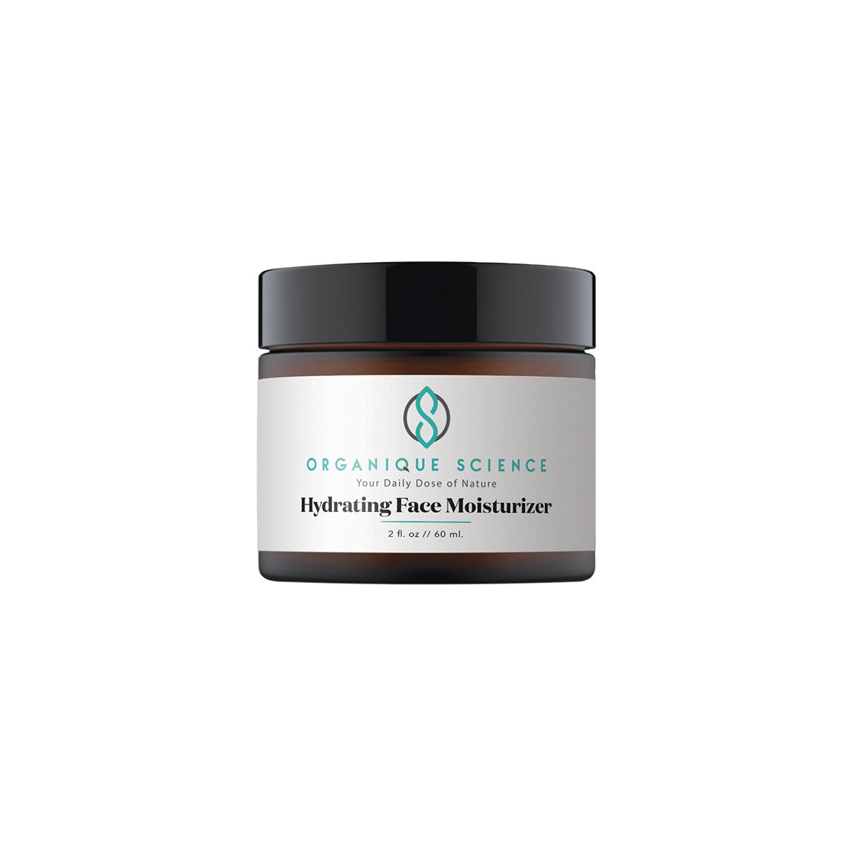 Hydrating Face Moisturizer with Vita-Plex™ & Hyaluronic Acid - Organique Science