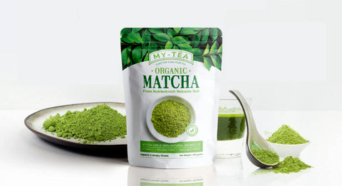 Image of My Tea - Matcha Green Tea Powder - Organique Science