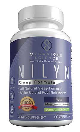 Image of NILYN All Natural Sleep Formula - 3-Bottles - Organique Science