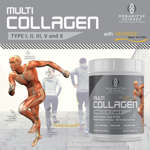 Multi-Collagen Protein Powder - Organique Science
