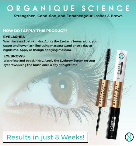 Eyelash Growth Serum - Organique Science