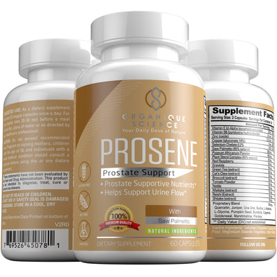 PROSENE Prostate Support - Organique Science