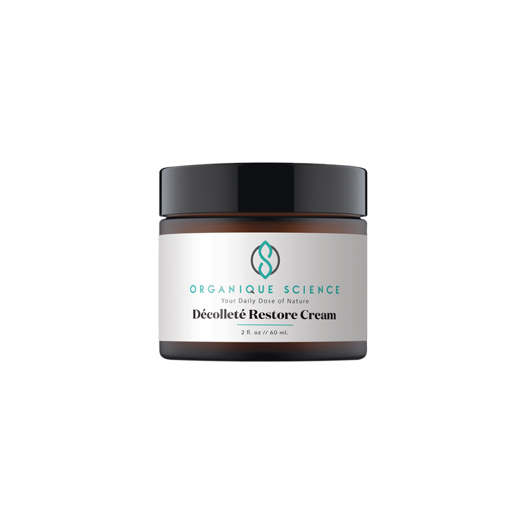 Dècolletè Restore Cream with Retinol, Argan Oil and Chamomile - Organique Science