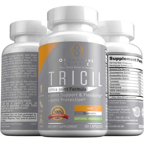 Image of TRICIL Ultra Joint Flex Formula - Organique Science