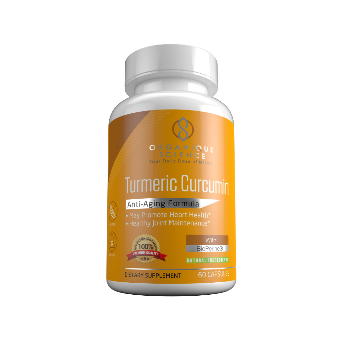 Turmeric Curcumin with BioPerine - Organique Science