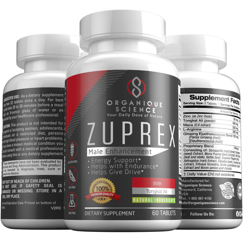 Image of ZUPREX Male Enhancement - Organique Science