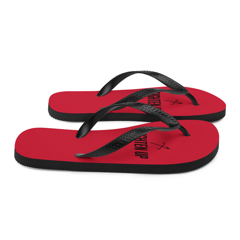 Tighten Flip-Flops (Summer Red Demon)