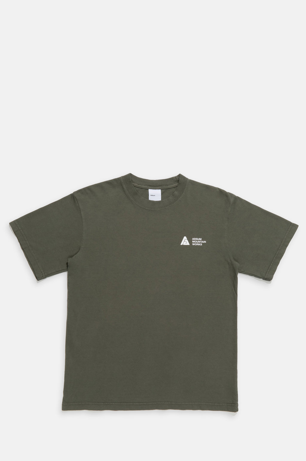 Adsum Mountain Works T Shirt in Ash Green