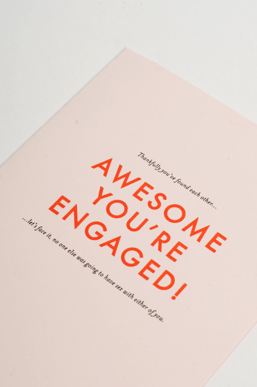Awesome, Youre Engaged!