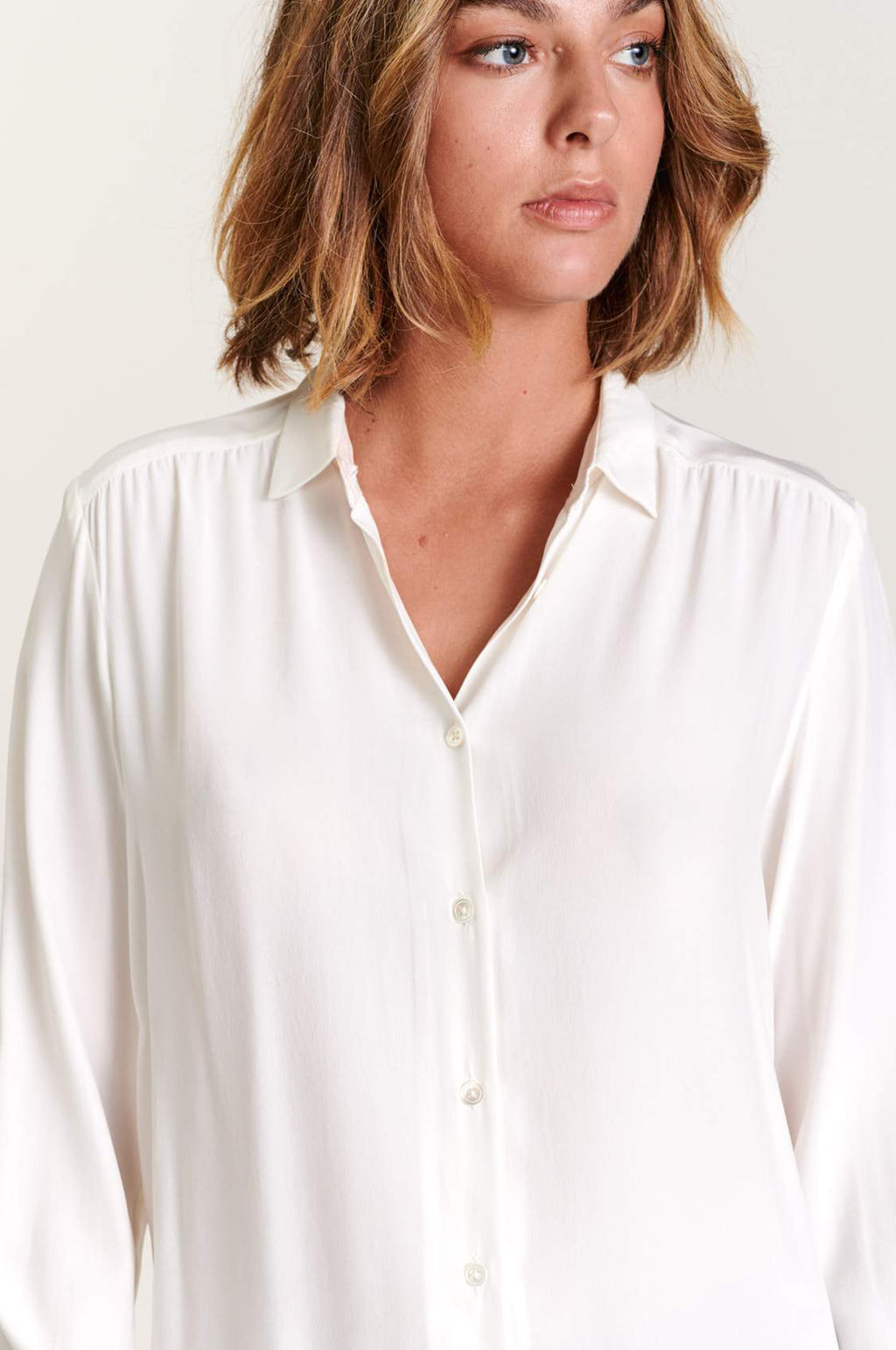 Astra Blouse in Natural