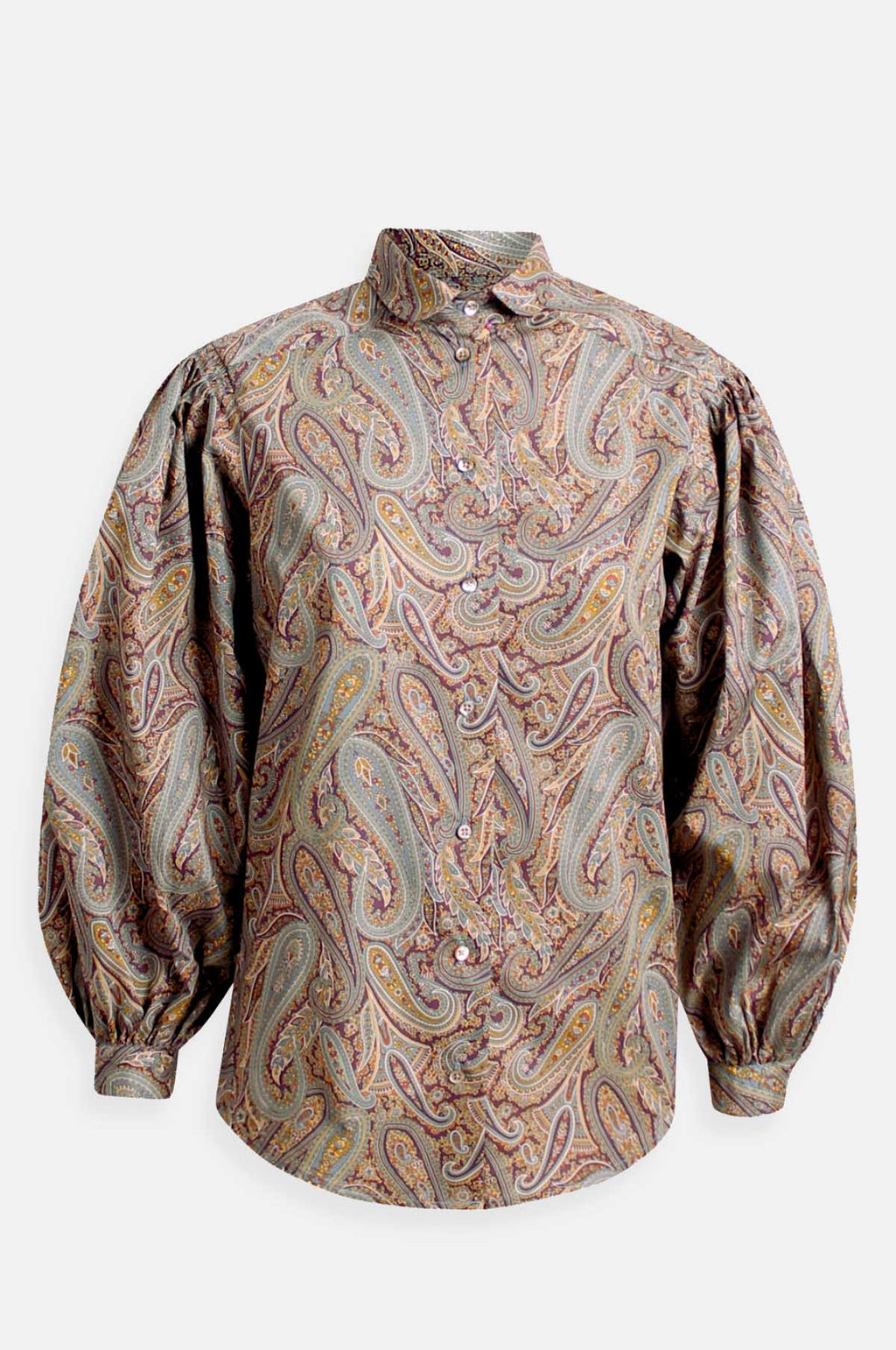 Basia Shirt in Paisley