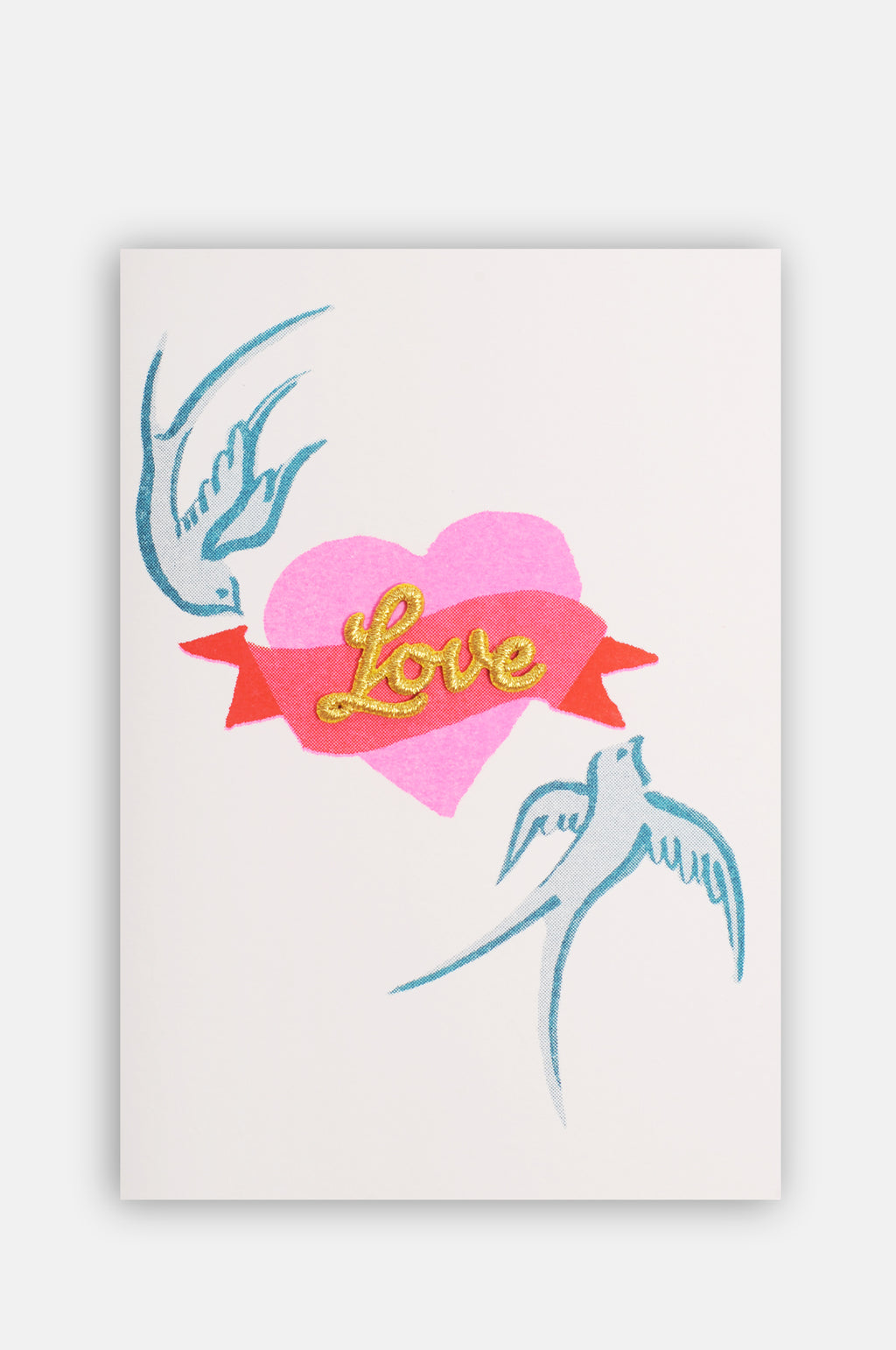 Birds & Heart Card