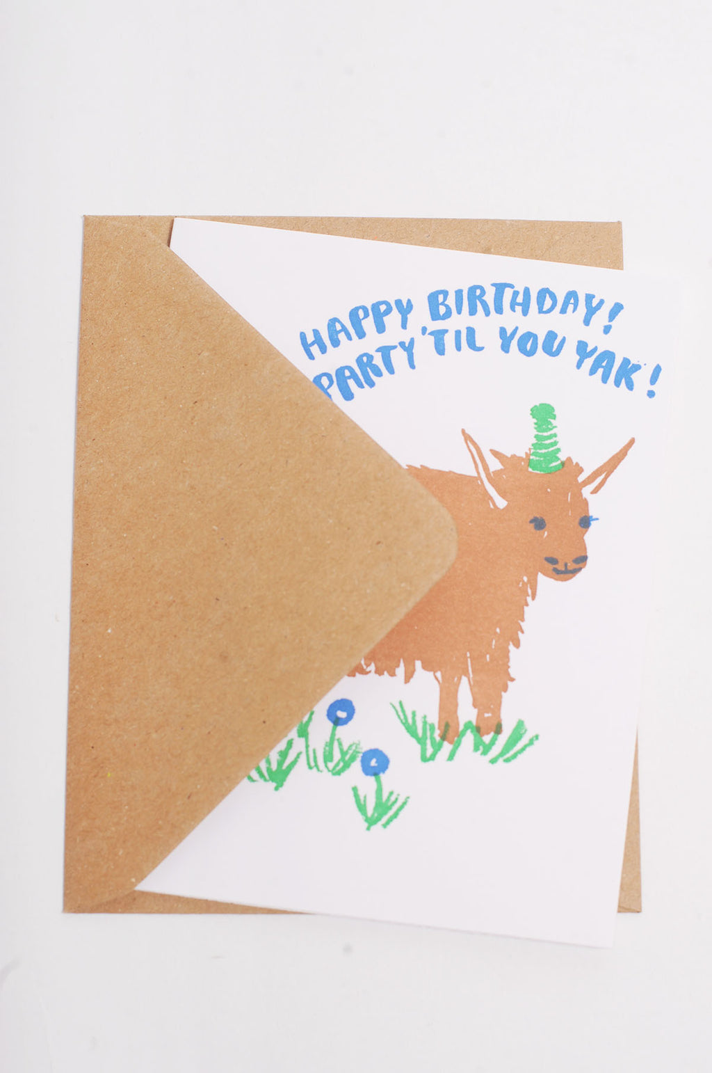 Birthday Yak Card