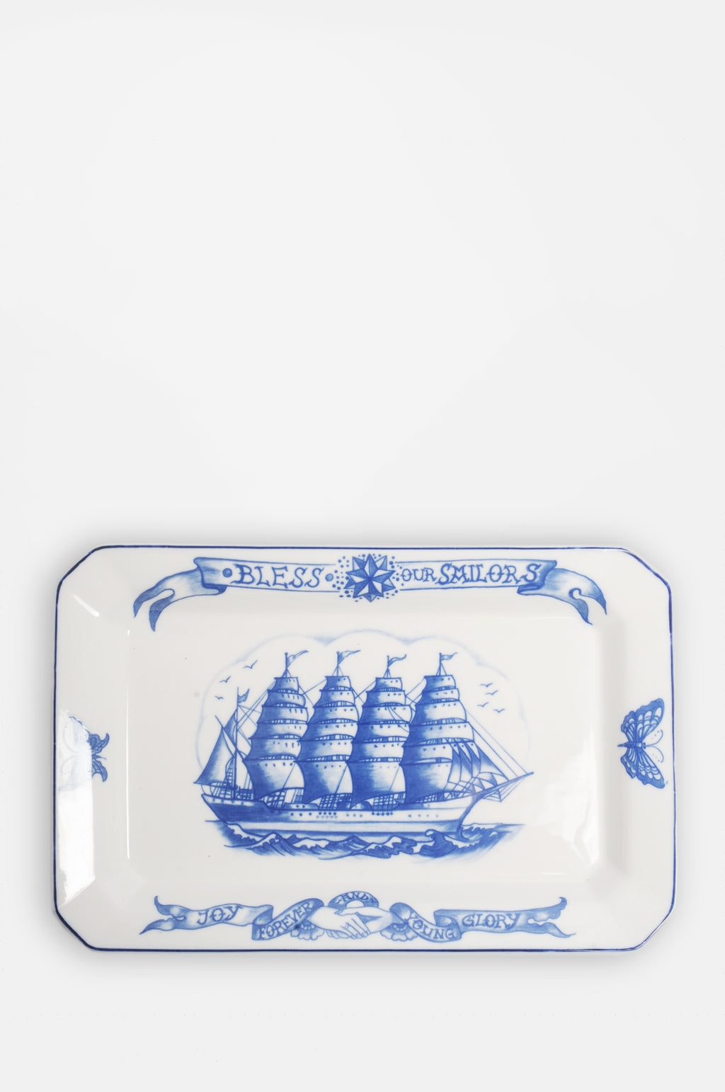 Bless Our Sailors Platter 34cm