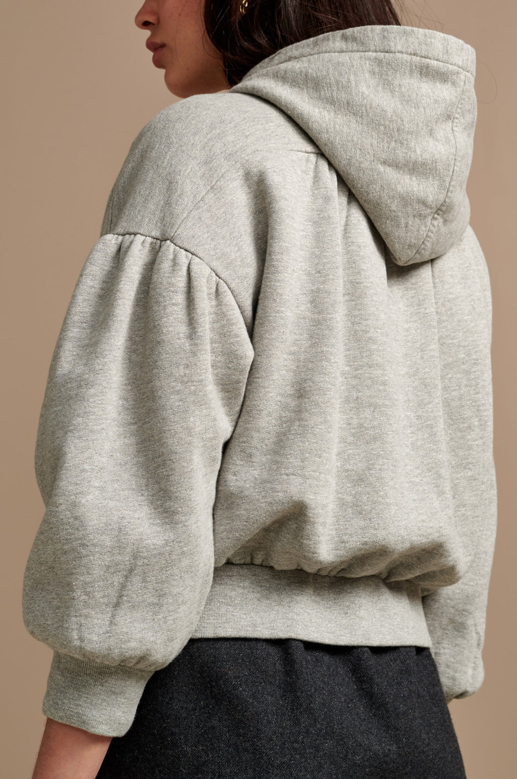 Bloom Sweatshirt in Heather Grey