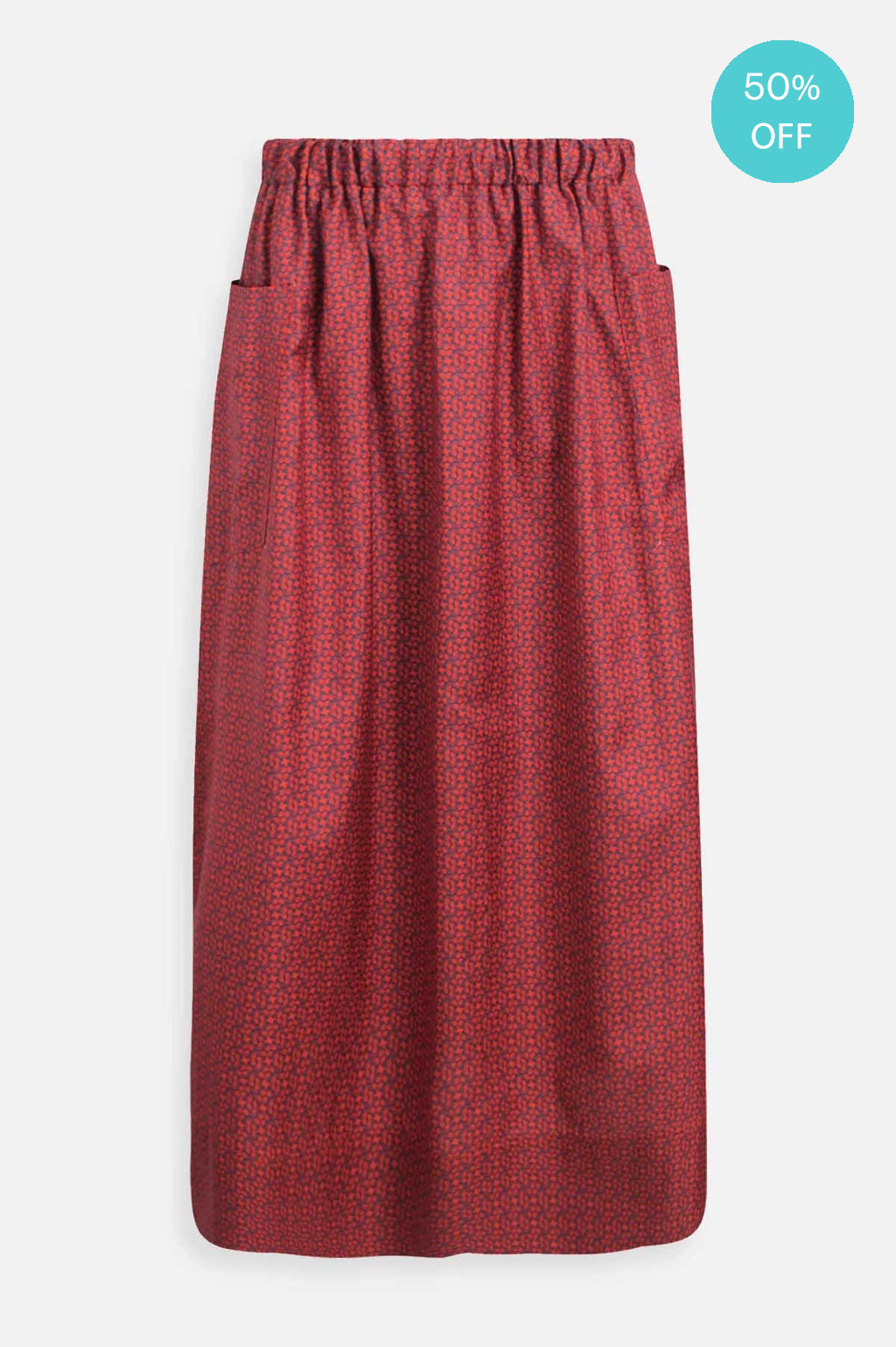 Lip Skirt in Ratti Red