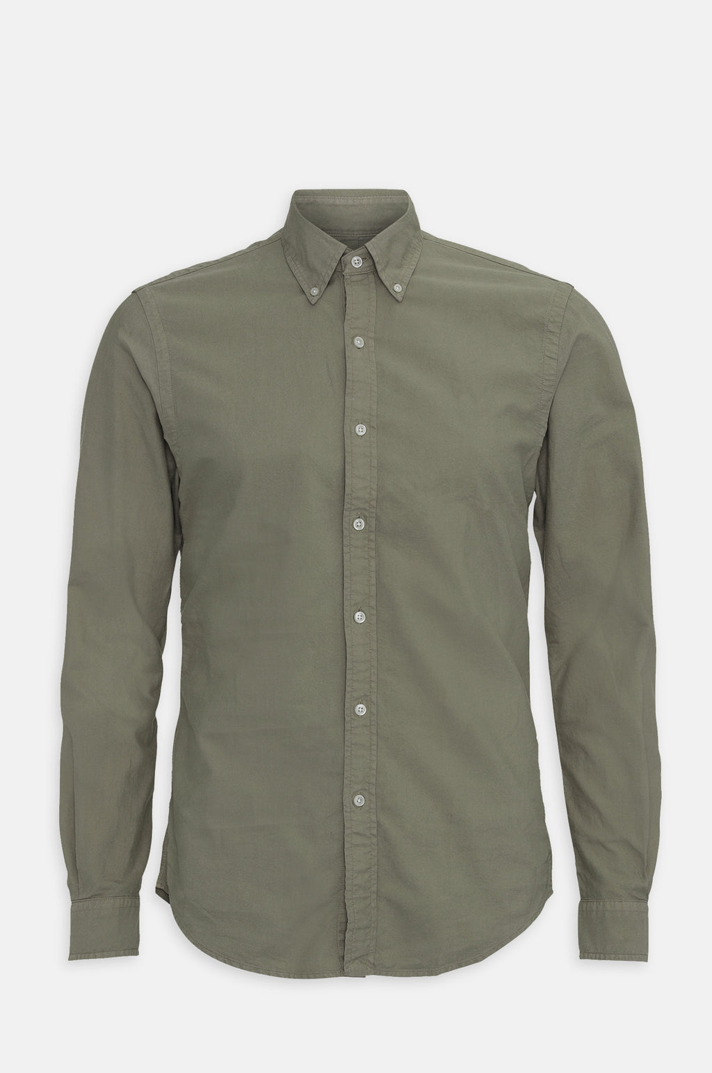 Button Down Shirt in Dusty Olive