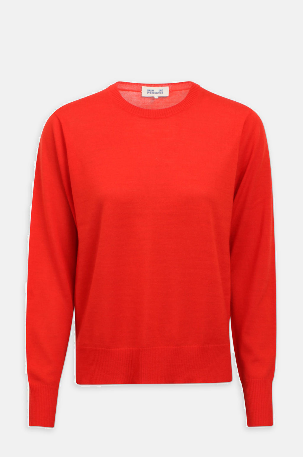 Caelyn Knitted Jumper in Orange.com