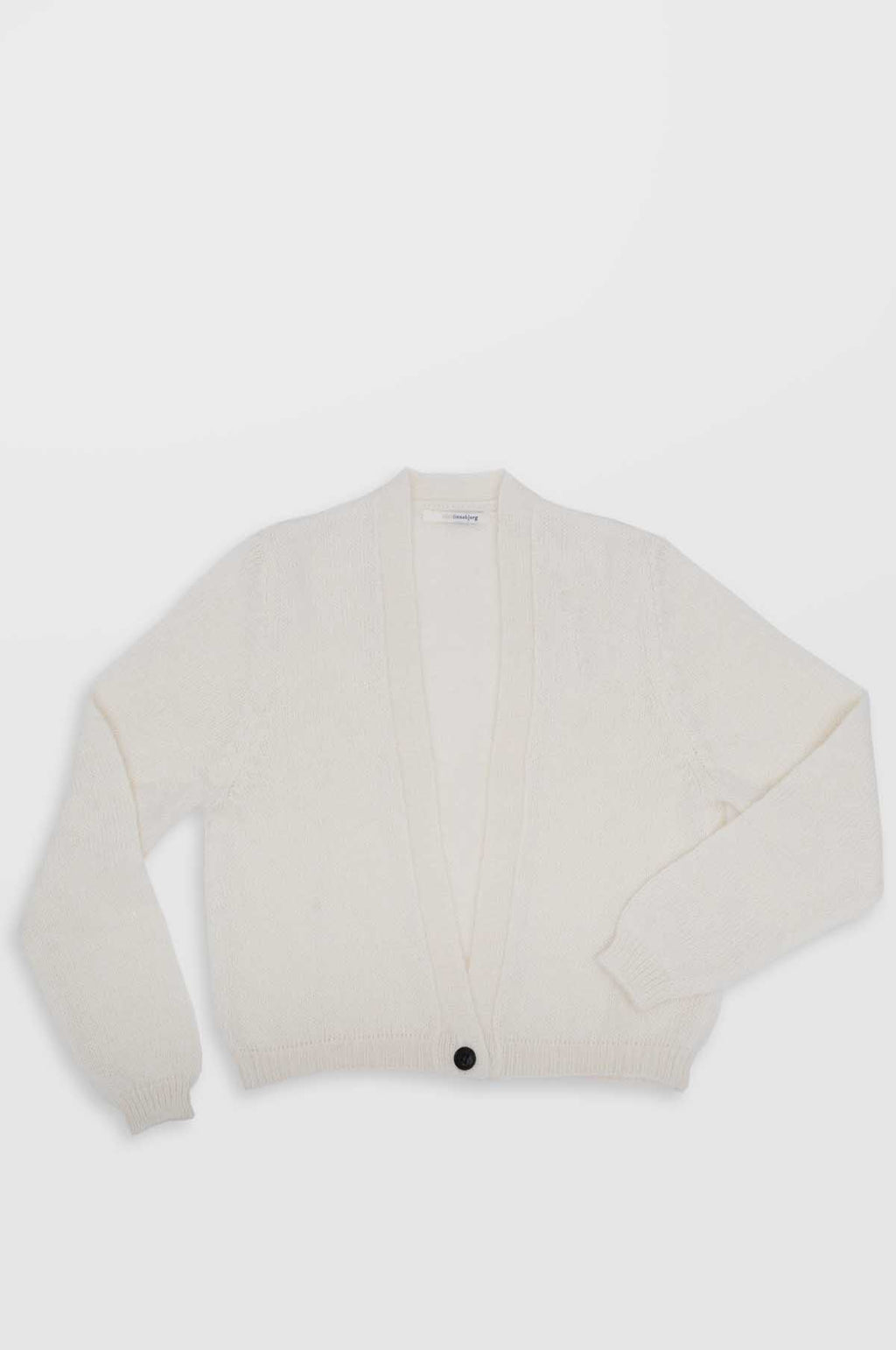Celine Knitted Cardigan in Off White