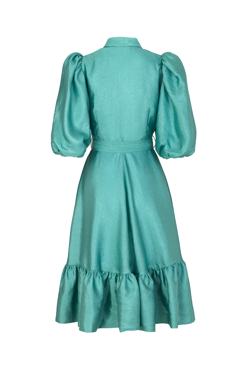 Chinie Dress in Aqua