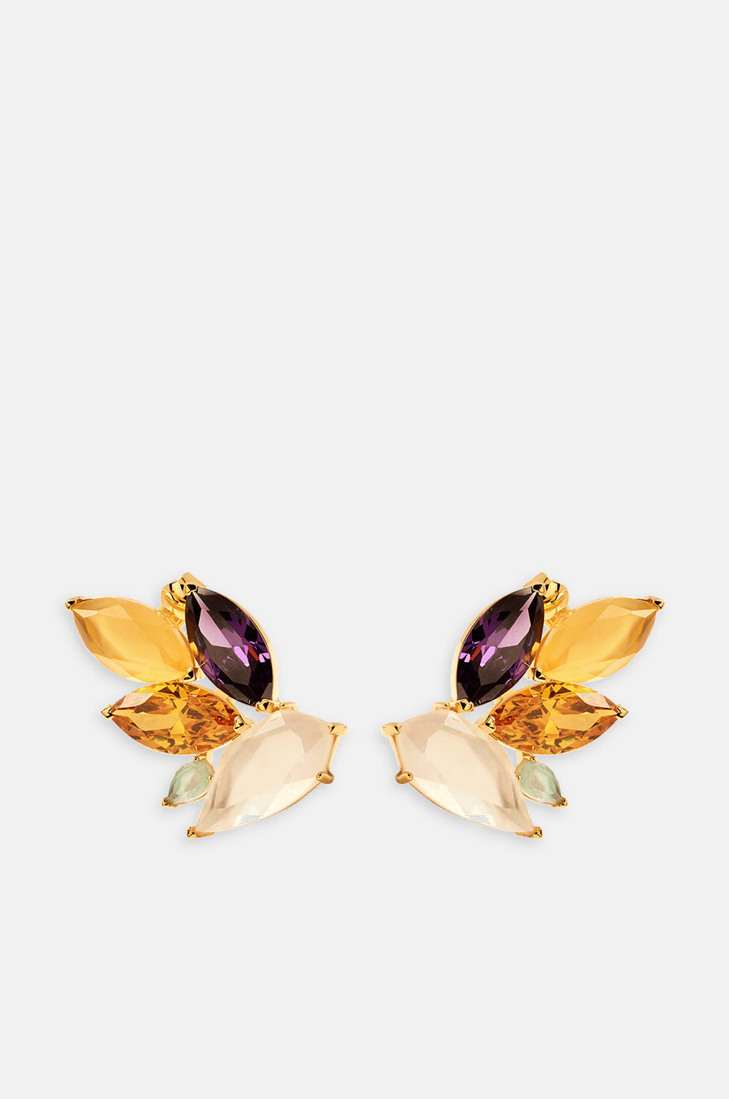 Citric Gold Earrings