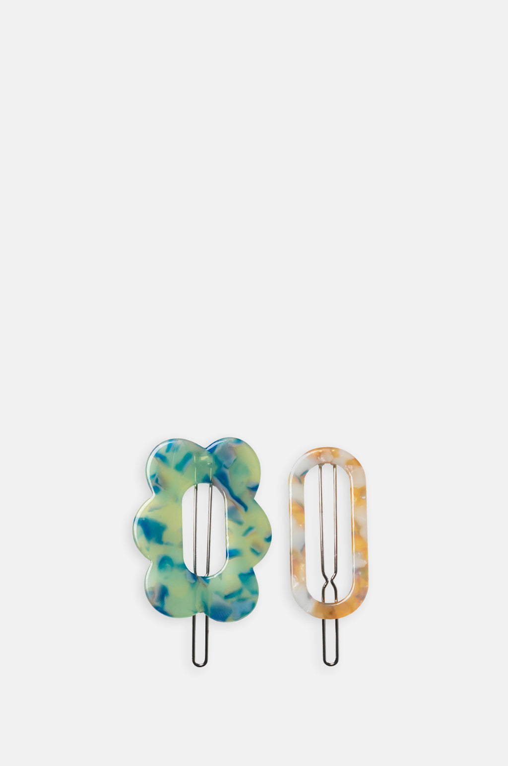 Clarinda Hairclip Summer Green