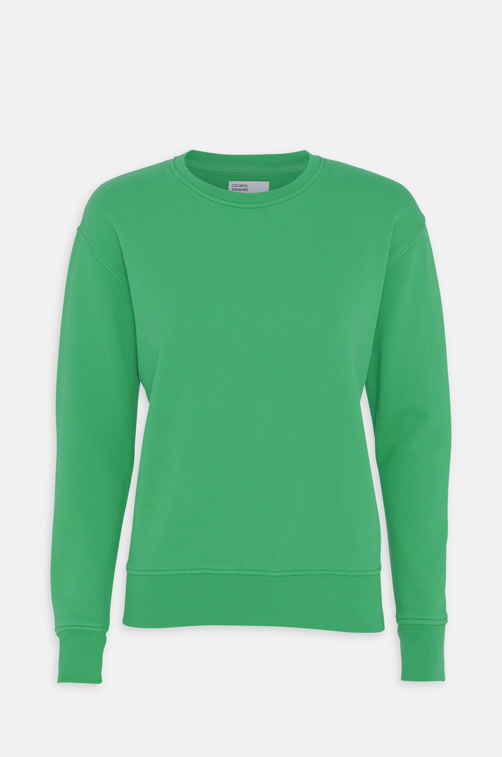 Women`s Classic Crew Sweatshirt in Kelly Green