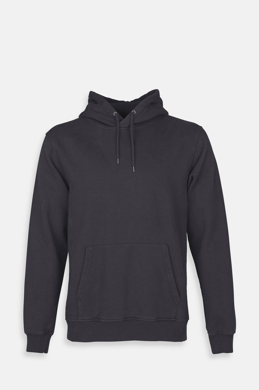 Classic Organic Hooded Sweatshirt in Lava Grey