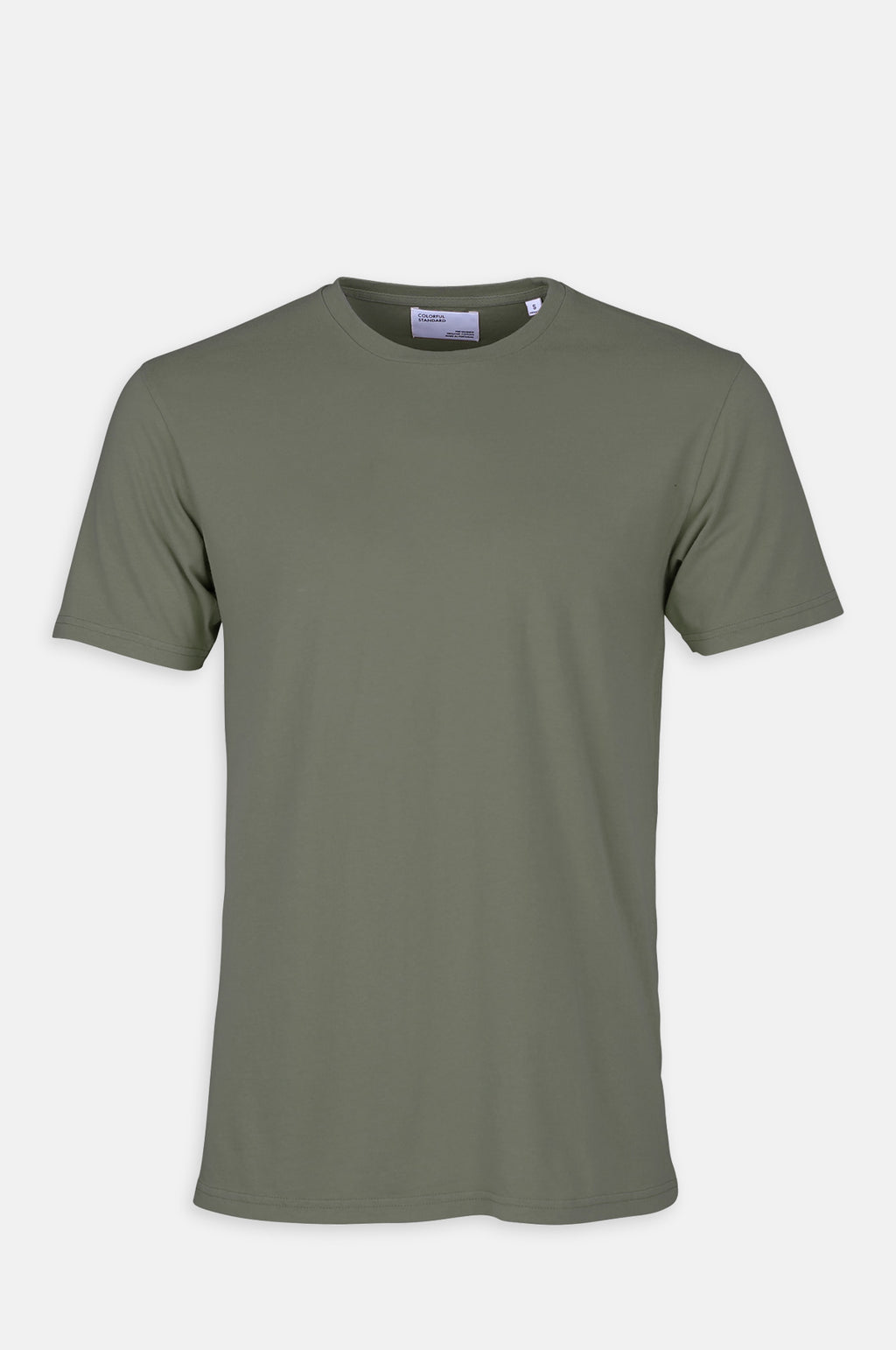 Classic Organic T Shirt in Dusty Olive