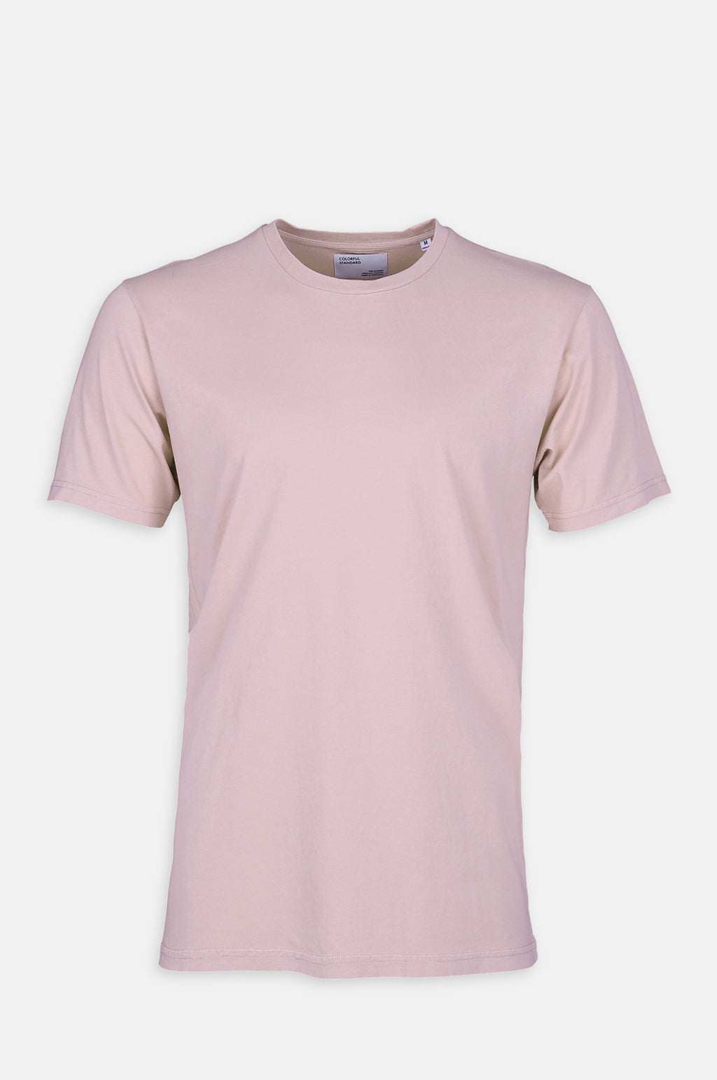 Classic Organic T Shirt in Faded Pink