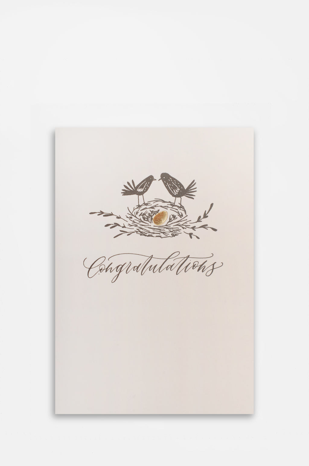 Congratulations Egg Card
