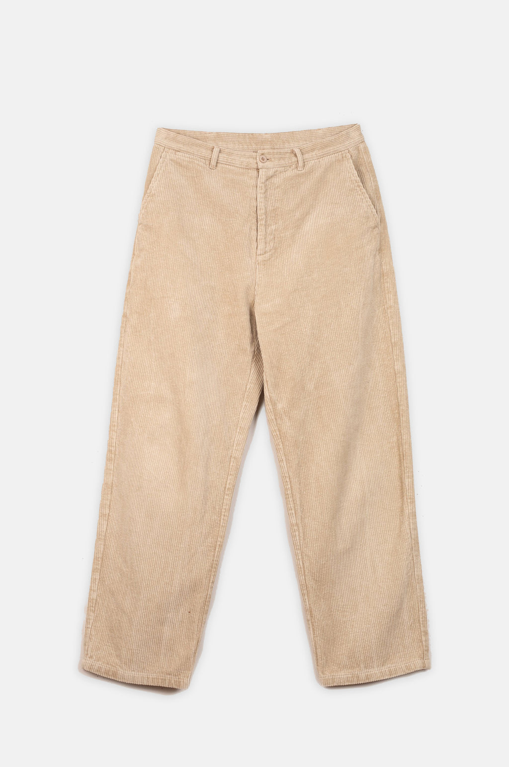 Corduroy Trousers in Taupe