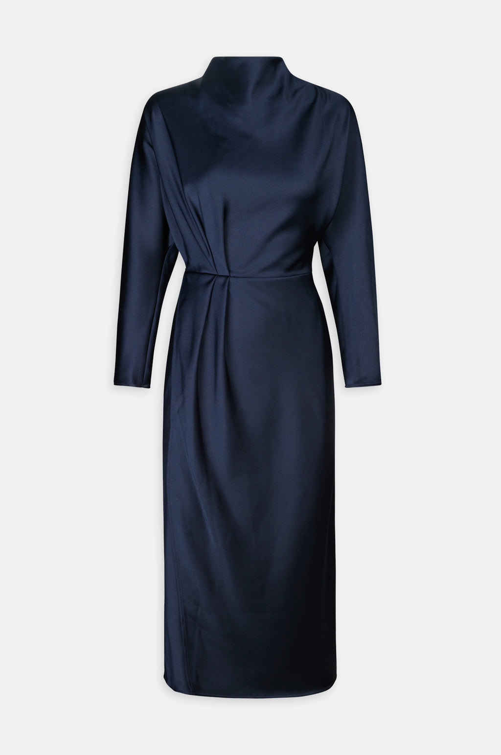 Damai Dress in Midnight