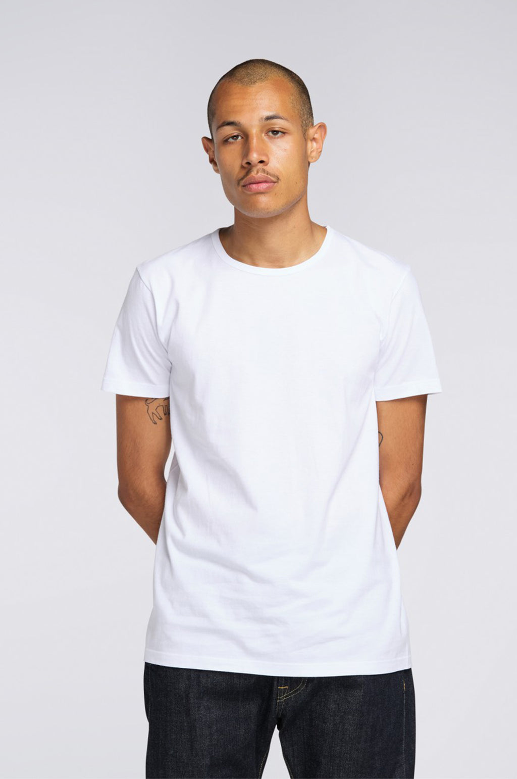 Double Pack Short Sleeve T Shirts in White