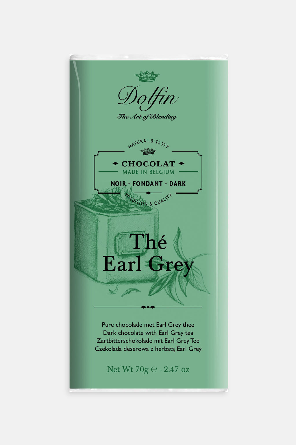 Earl Grey Tea Dark Chocolate Bar