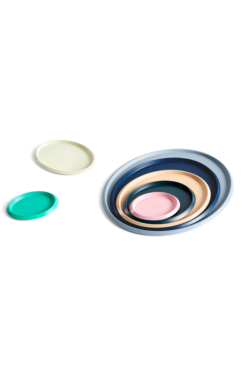 X-Small Ellipse Tray in Green