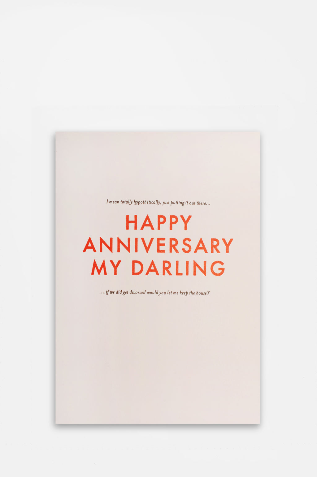 Happy Anniversary My Darling Card