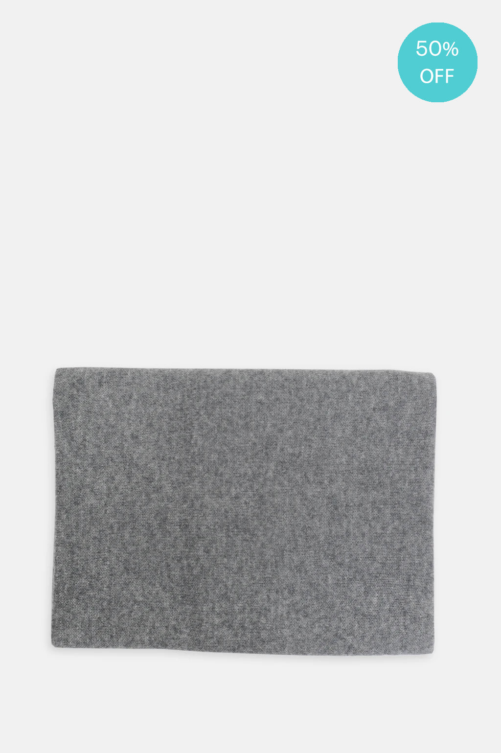 Cashmere Scarf in Thunder Grey