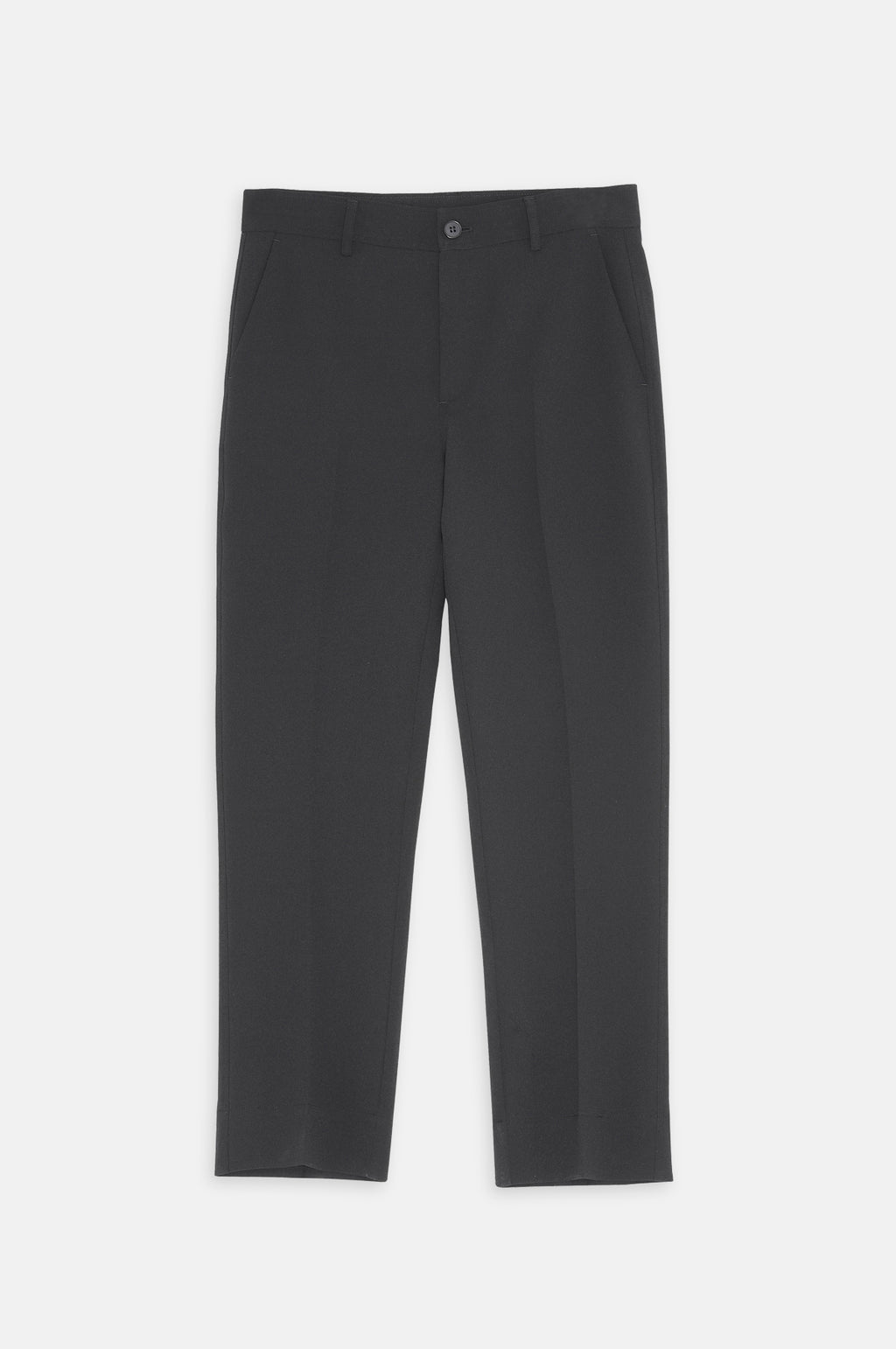 Heavy Crepe Pant in Black