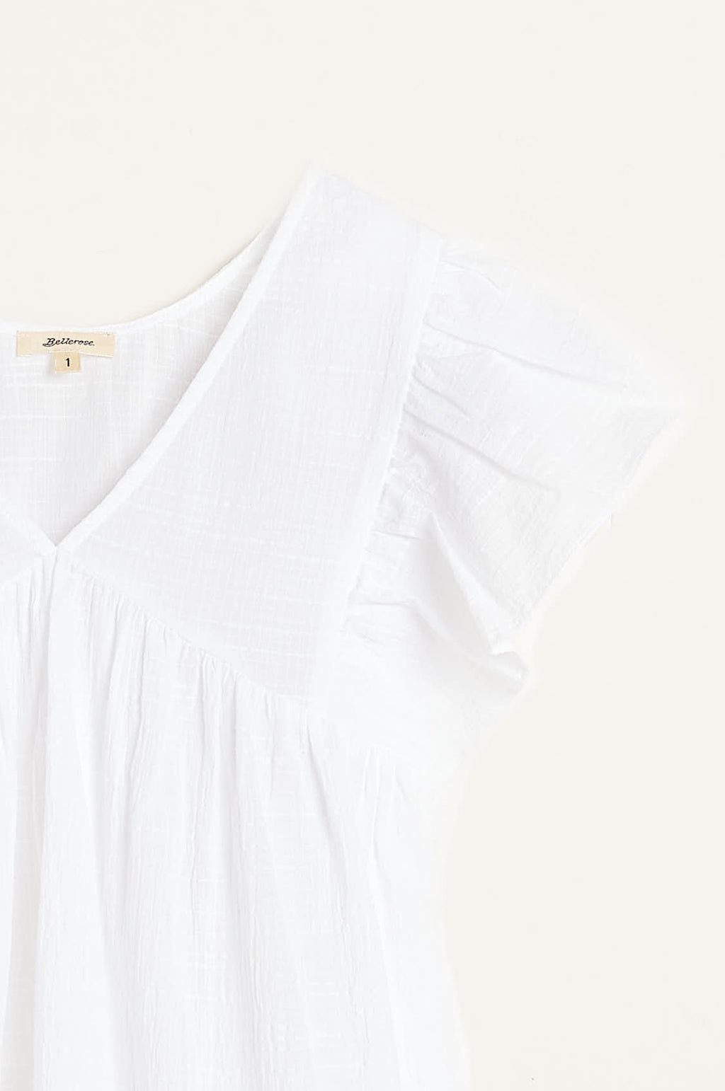 Hourra Top in White