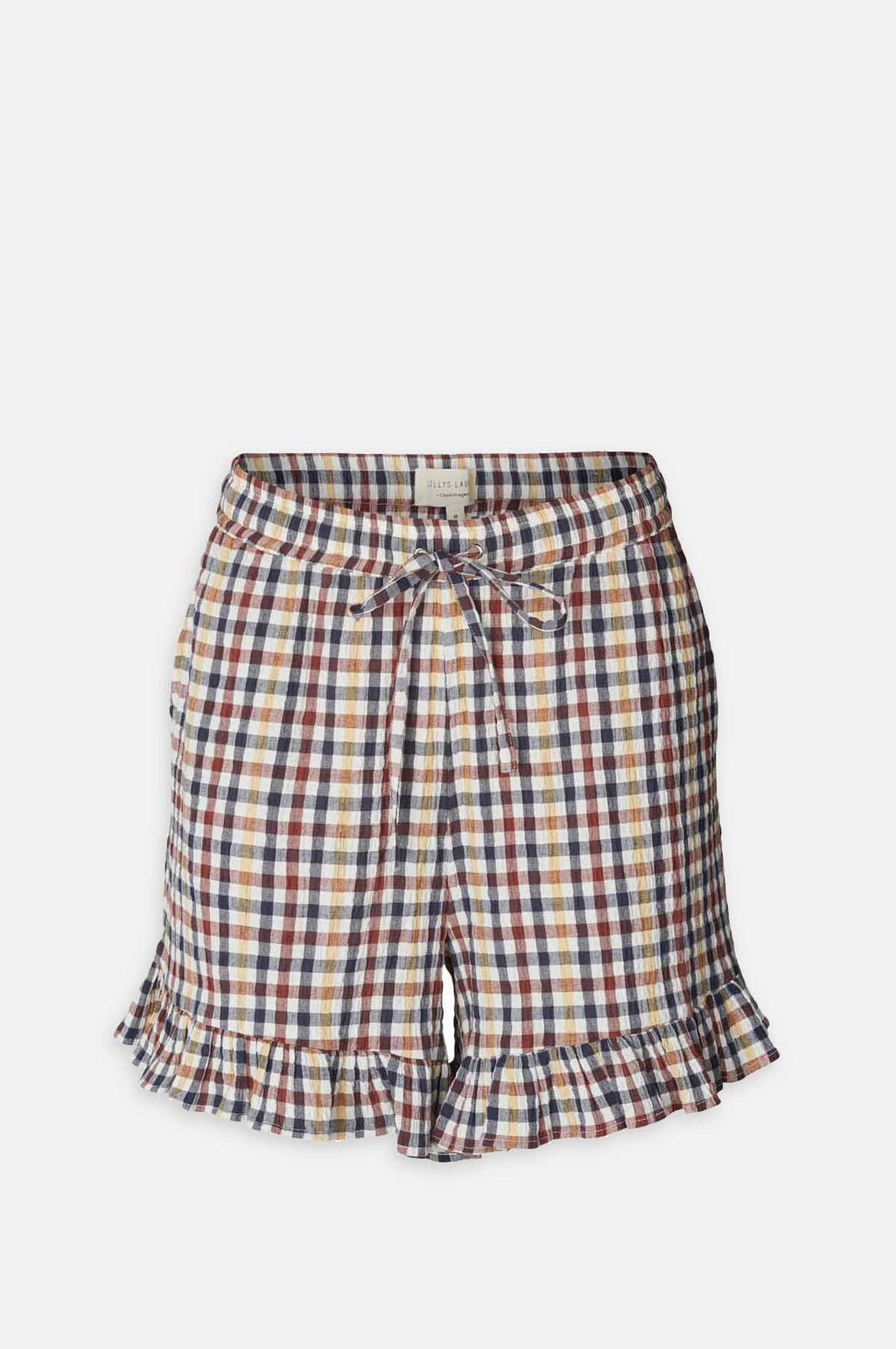 Ida Shorts in Check Print